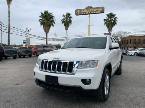 2012 Jeep Grand Cherokee for sale at A MOTORS SALES AND FINANCE in San Antonio TX