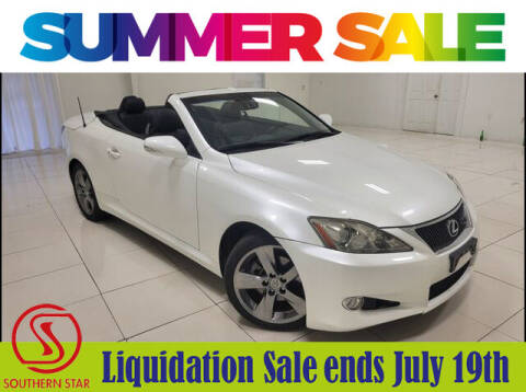 2010 Lexus IS 250C for sale at Southern Star Automotive, Inc. in Duluth GA