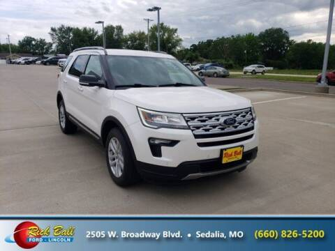 2019 Ford Explorer for sale at RICK BALL FORD in Sedalia MO