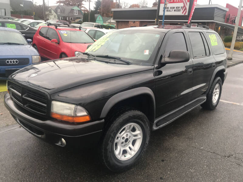 2003 Dodge Durango for sale at American Dream Motors in Everett WA