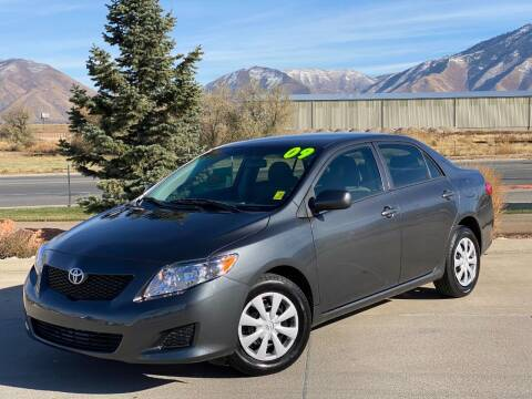 2009 Toyota Corolla for sale at Evolution Auto Sales LLC in Springville UT