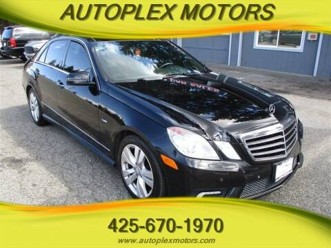 2011 Mercedes-Benz E-Class for sale at Autoplex Motors in Lynnwood WA