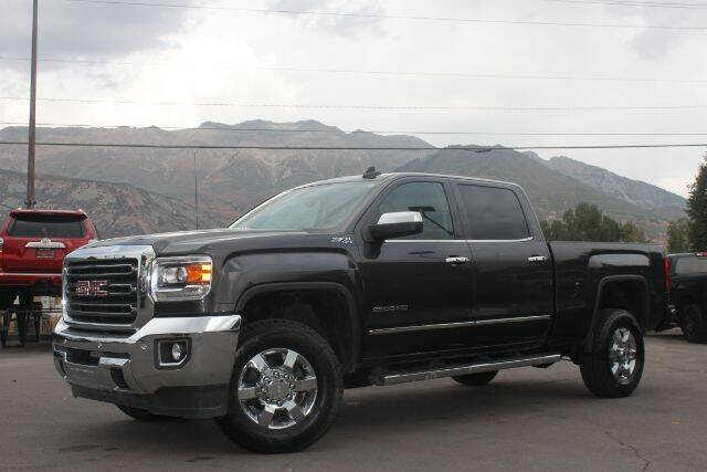 2015 GMC Sierra 2500HD for sale at REVOLUTIONARY AUTO in Lindon UT