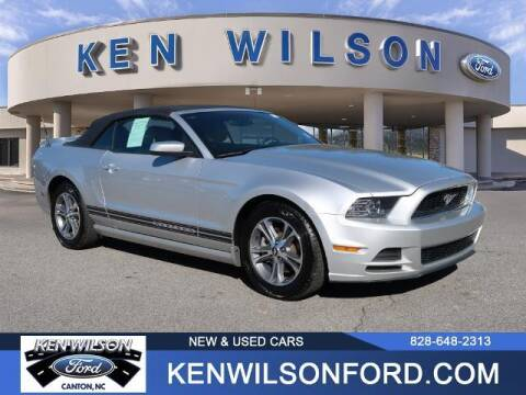 2014 Ford Mustang for sale at Ken Wilson Ford in Canton NC