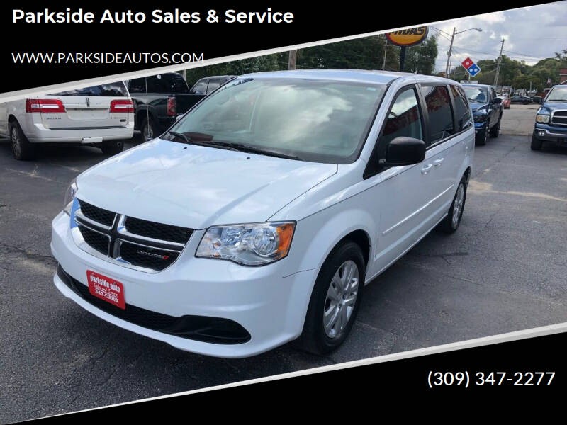 2015 Dodge Grand Caravan for sale at Parkside Auto Sales & Service in Pekin IL