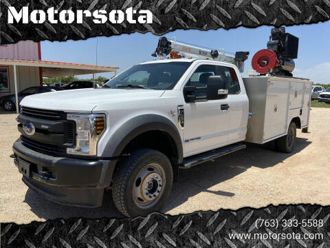 2018 Ford F550 Superduty for sale at Motorsota in Becker MN