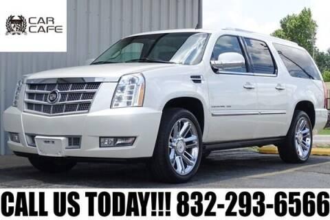 2012 Cadillac Escalade ESV for sale at CAR CAFE LLC in Houston TX