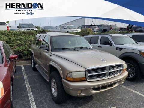 2002 Dodge Durango for sale at Herndon Chevrolet in Lexington SC