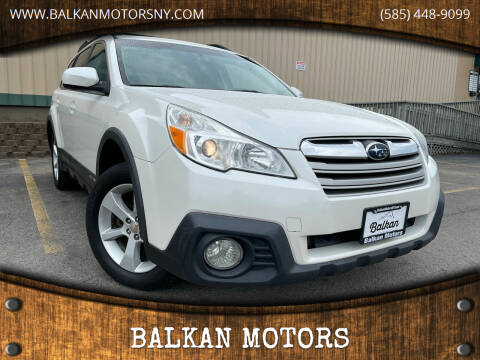 2014 Subaru Outback for sale at BALKAN MOTORS in East Rochester NY