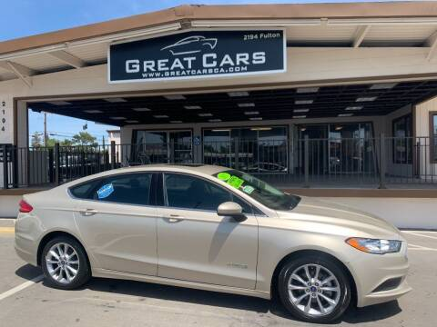 2017 Ford Fusion Hybrid for sale at Great Cars in Sacramento CA