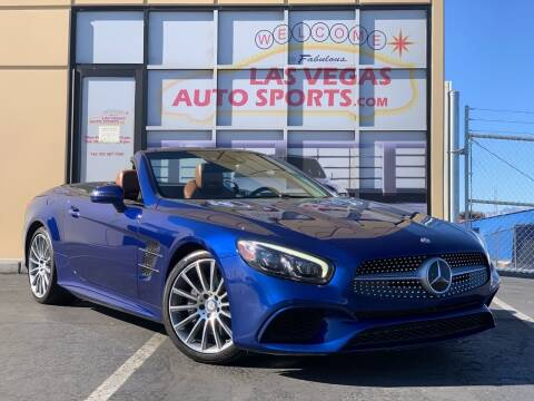 2017 Mercedes-Benz SL-Class for sale at Las Vegas Auto Sports in Las Vegas NV