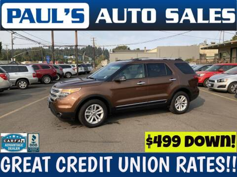2011 Ford Explorer for sale at Paul's Auto Sales in Eugene OR