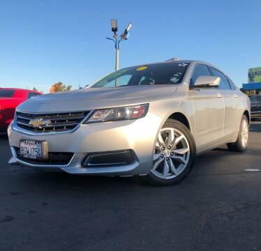 2017 Chevrolet Impala for sale at LUGO AUTO GROUP in Sacramento CA