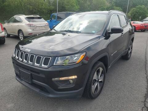 2018 Jeep Compass for sale at Mulligan's Auto Exchange LLC in Paxinos PA