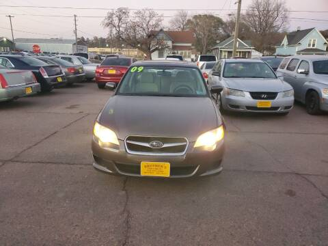 2009 Subaru Legacy for sale at Brothers Used Cars Inc in Sioux City IA