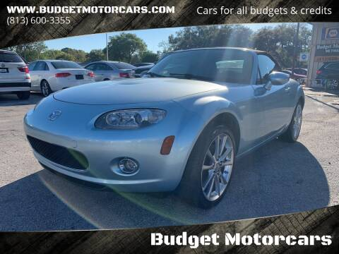 2008 Mazda MX-5 Miata for sale at Budget Motorcars in Tampa FL