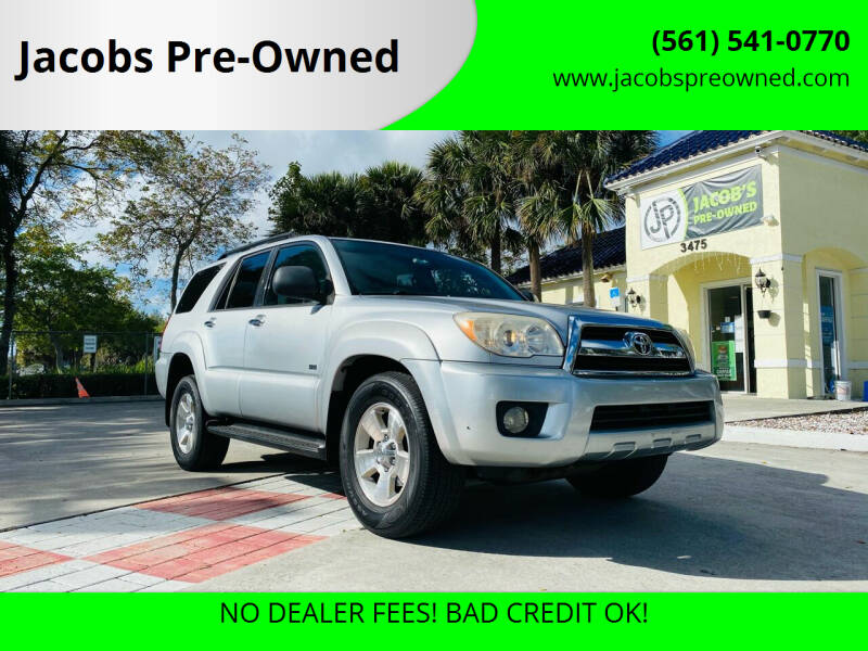 2006 Toyota 4Runner for sale at Jacobs Pre-Owned in Lake Worth FL