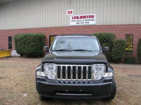 2008 Jeep Liberty for sale at Unlimited Auto Sales & Detailing, LLC in Windsor Locks CT
