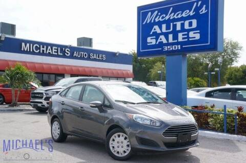 2016 Ford Fiesta for sale at Michael's Auto Sales Corp in Hollywood FL