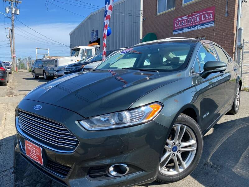 2015 Ford Fusion Hybrid for sale at Carlider USA in Everett MA