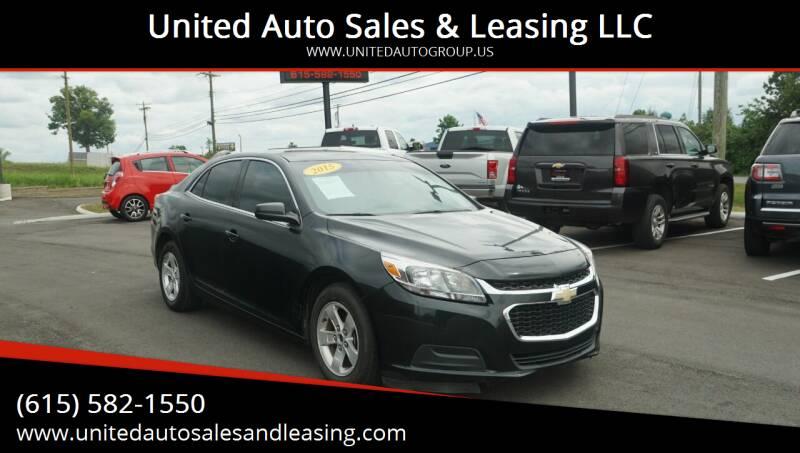2015 Chevrolet Malibu for sale at United Auto Sales & Leasing LLC in La Vergne TN