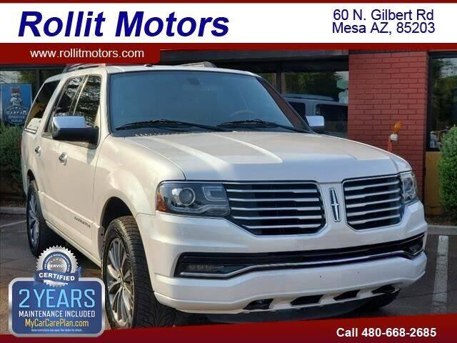 2017 Lincoln Navigator for sale at Rollit Motors in Mesa AZ
