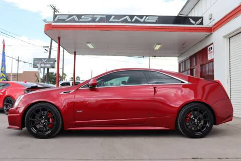 2013 Cadillac CTS-V for sale at FAST LANE AUTO SALES in San Antonio TX