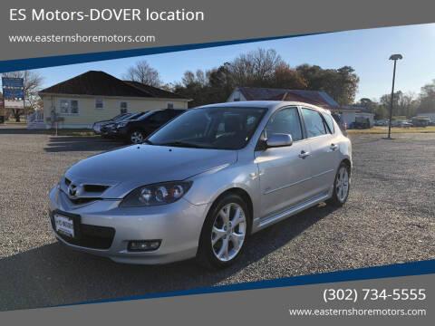 2009 Mazda MAZDA3 for sale at ES Motors-DAGSBORO location - Dover in Dover DE