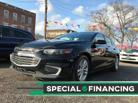 2016 Chevrolet Malibu for sale at Best Cars R Us in Plainfield NJ