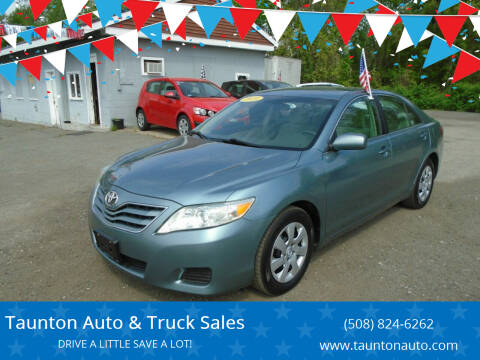 2010 Toyota Camry for sale at Taunton Auto & Truck Sales in Taunton MA