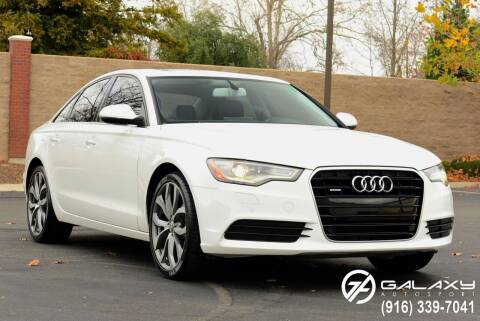 2013 Audi A6 for sale at Galaxy Autosport in Sacramento CA