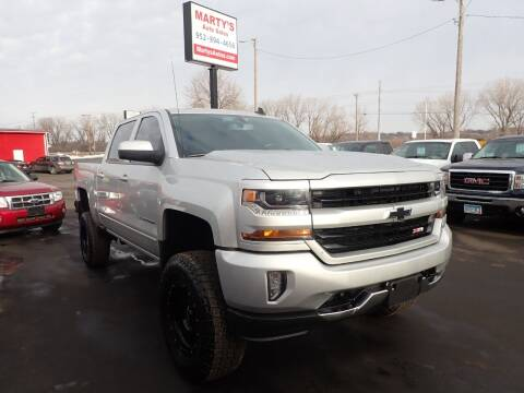 2017 Chevrolet Silverado 1500 for sale at Marty's Auto Sales in Savage MN