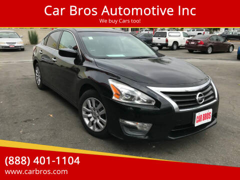 2013 Nissan Altima for sale at Car Bros Automotive Inc in Lomita CA