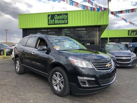 2015 Chevrolet Traverse for sale at 1st Quality Motors LLC in Gallup NM
