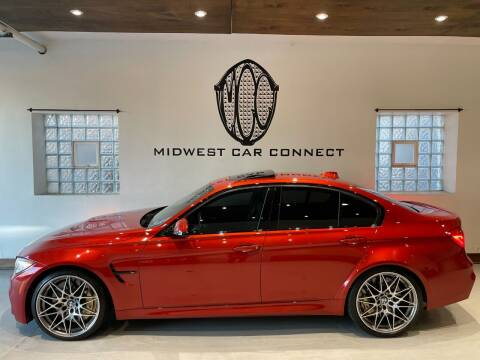 2016 BMW M3 for sale at Midwest Car Connect in Villa Park IL