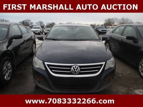 2012 Volkswagen CC for sale at First Marshall Auto Auction in Harvey IL
