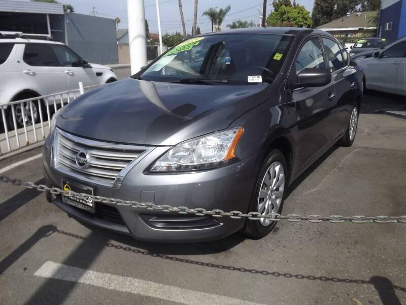 2015 Nissan Sentra for sale at PACIFICO AUTO SALES in Santa Ana CA