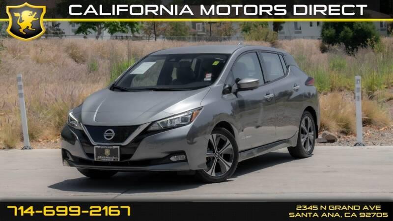 2019 Nissan LEAF for sale in Santa Ana, CA