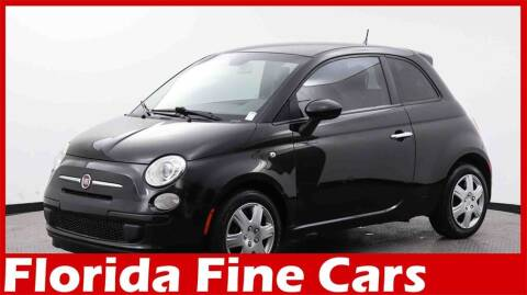 2013 FIAT 500 for sale at Florida Fine Cars - West Palm Beach in West Palm Beach FL