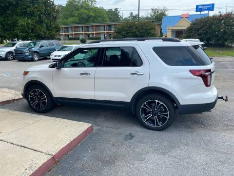 2014 Ford Explorer for sale at J Franklin Auto Sales in Macon GA