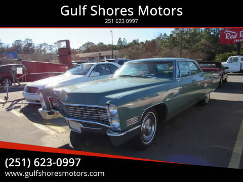 1967 Cadillac DeVille for sale at Gulf Shores Motors in Gulf Shores AL