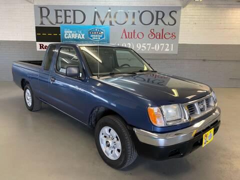 2000 Nissan Frontier for sale at REED MOTORS LLC in Phoenix AZ