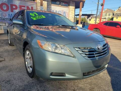 2007 Toyota Camry for sale at USA Auto Brokers in Houston TX