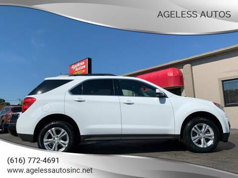 2014 Chevrolet Equinox for sale at Ageless Autos in Zeeland MI