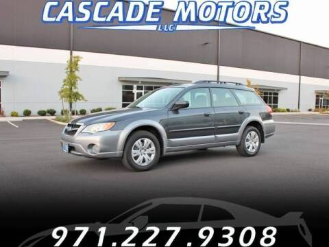 2009 Subaru Outback for sale at Cascade Motors in Portland OR
