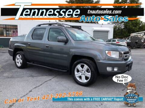 2011 Honda Ridgeline for sale at Tennessee Auto Sales in Elizabethton TN