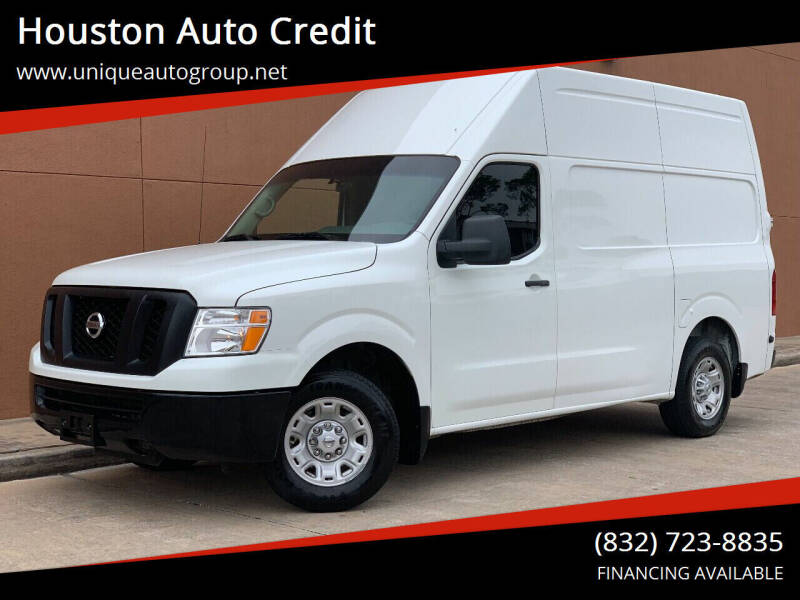 2017 Nissan NV Cargo for sale at Houston Auto Credit in Houston TX