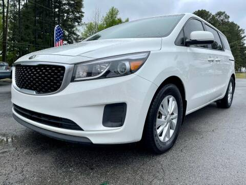 2016 Kia Sedona for sale at Airbase Auto Sales in Cabot AR