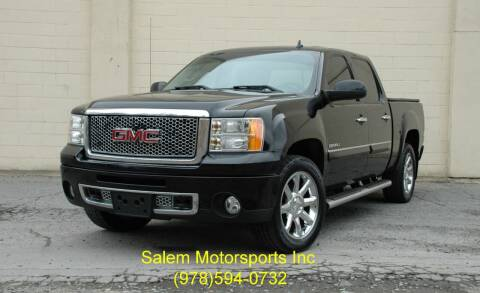2013 GMC Sierra 1500 for sale at Salem Motorsports in Salem MA