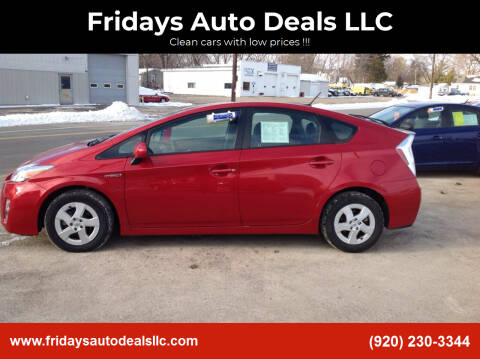 2010 Toyota Prius for sale at Fridays Auto Deals LLC in Oshkosh WI